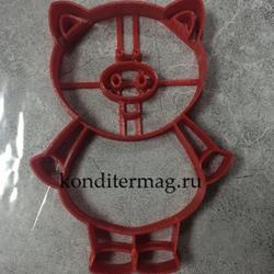Формочка для печенья Свинка-10 10,5х7 см. 1