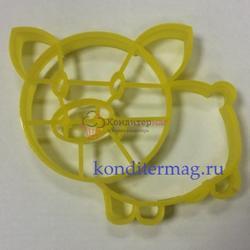 Формочка для печенья Свинка-11 10,5х9,5 см. 1