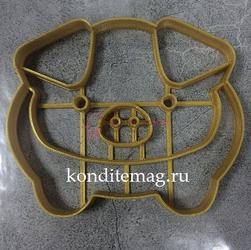 Формочка для печенья Свинка-14 9х11 см. 1