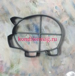 Формочка для печенья Свинка-4 8,4х11 см. 1