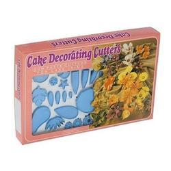 Формы для изготовления цветов из мастики набор 75 шт. 3