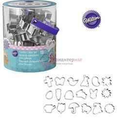 Формочка для печенья Пасха 18 шт. в тубе металл Вилтон 1