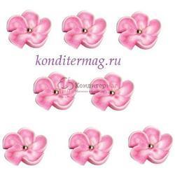 Украшение сахарное Яблоневый цвет розовый набор 13 шт. 1