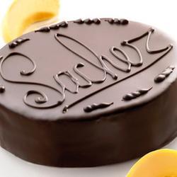 Глазурь кондитерская темная Захеркрем 20% какао 200 г. 1