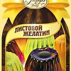 Желатин листовой Топ Продукт 12 г. 2