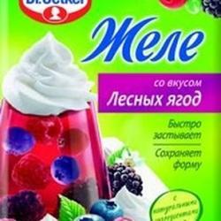 Желе Лесная ягода Dr.Oetker, 45 г., 2
