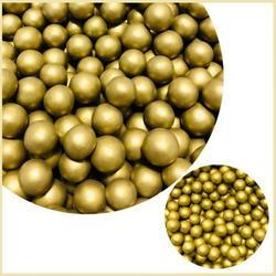 Жемчуг сахарный Золото металлик 10 мм. 100 г. 1
