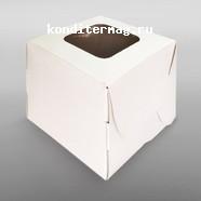 Упаковка для 1 капкейка Белоснежка с окошком 1