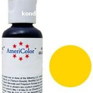 Краситель гелевый AmeriColor Лимонный желтый Lemon Yellow 21 г. 2