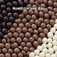 Шарики хрустящие белый шоколад 100 г. Irca 2