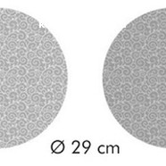 Подставка для сладостей 28х7 см. Листочки двусторонняя 4