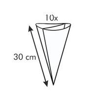 Мешок двухсекционный п/э 30 см. набор 10 шт. Tescoma 2
