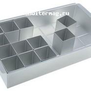 Форма для выпечки Объемные буквы 31,5х18 см. металл 2