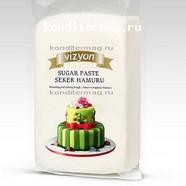 Мастика сахарная белая 1 кг. Polen Vizyon 1