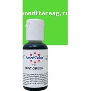 Краситель гелевый AmeriColor Зеленый мятный Mint Green 21 г. 3