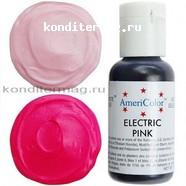 Краситель гелевый AmeriColor Розовый электрик Electric Pink 21 г. 1