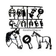 Пэчворк  Лошадь набор 3
